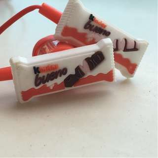 KINDER BUENO Headphones ($4 for 2 pairs)