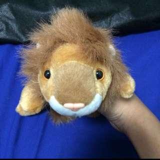 Lying down cute Lion Toy