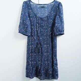 Dotti vintage look flower print dress Size 10