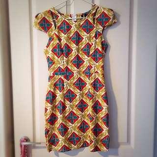 Funky Patterned Dress