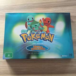 Pokemon The Series Kanto and Orange Islands Limited Edition Collection DVD Set