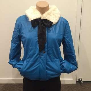 Blue Jacket Size S