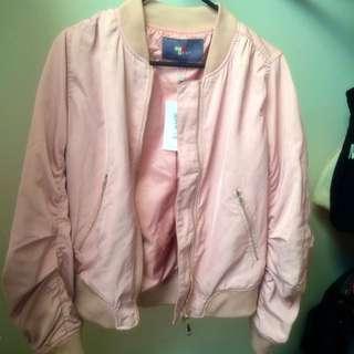 BNWT Temt Dusty Pink Bomber