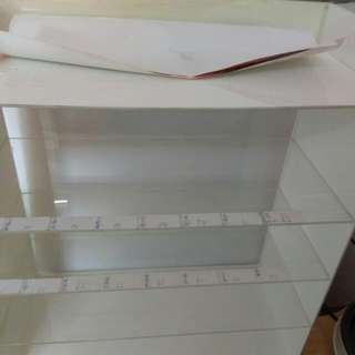 煙架&壓克力&桌上型五層櫃