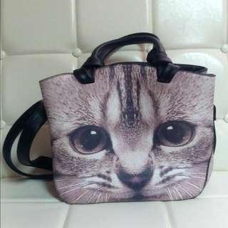 貓咪肩背包斜背包手提包