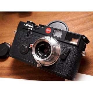 Nikkor 28mm f3.5 ltm/m39 mount leica film camera lens