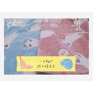 貓咪毛毯寶寶毯喵星人辦公室必備療癒系午覺毯