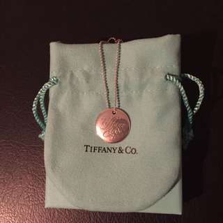 Round Tiffany And Co Necklace