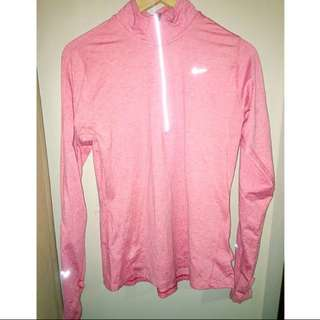 Nike Pink Women's Long Sleeve Top