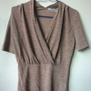 Dusty Pink Formal-looking Blouse