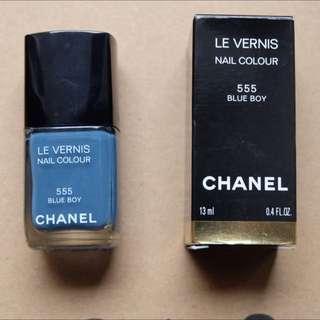 Chanel - Blue Nail Polish