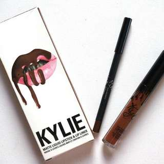 Authentic Kylie Jenner Matte Lipstick in True Brown K (Single)