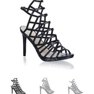 rmk Caged Heels Size 8