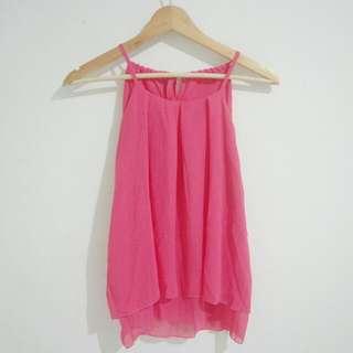 NEW - Pink Halter Top