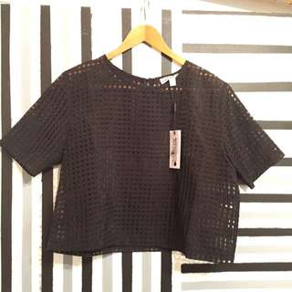 New! Black Top Size S