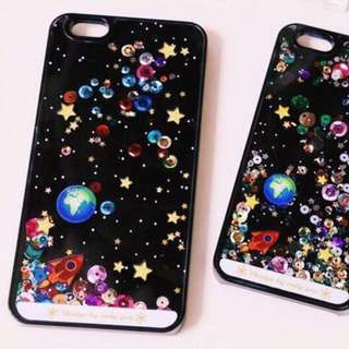 iPhone 6 Plus Planet Galaxy Case Casing
