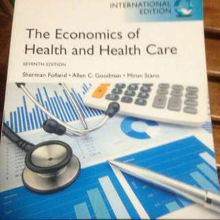 The Economics Of Health And Healthcare 7th Ed