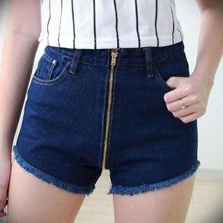 [BN] Sexy Long Zipped Jeans / Shorts