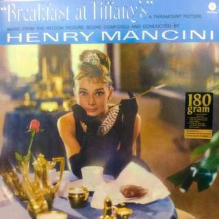 Vinyl Record - Breakfast at Tiffany's OST