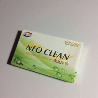 NEO VISION Disposable Soft Contact Lens (Monthly) 月式即棄隱形眼鏡