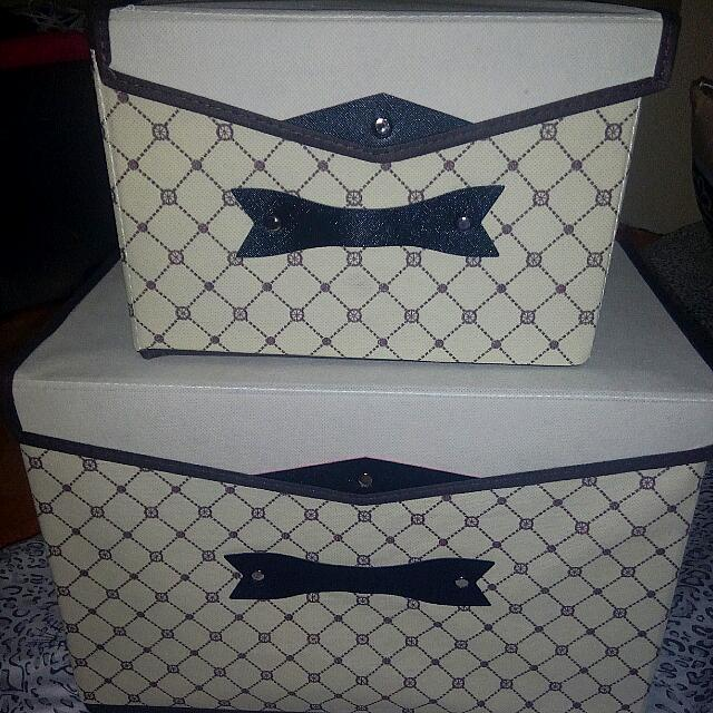2PC WARDROBE BOX  (FREE SHIPPING)