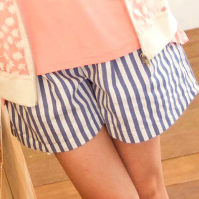 👒藍白條紋短褲👒
