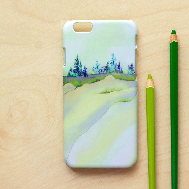 靜謐山丘 //原創手機殼-磨砂硬殼 iPhone, HTC, Samsung, Sony,oppo, LG