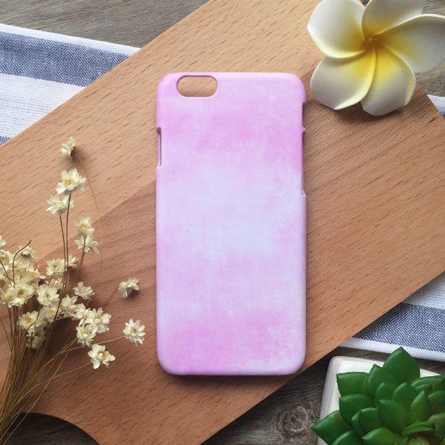 粉紅馬卡龍水彩色鉛筆//原創手機殼- iPhone, HTC, Samsung, Sony, oppo, LG 磨砂硬殼
