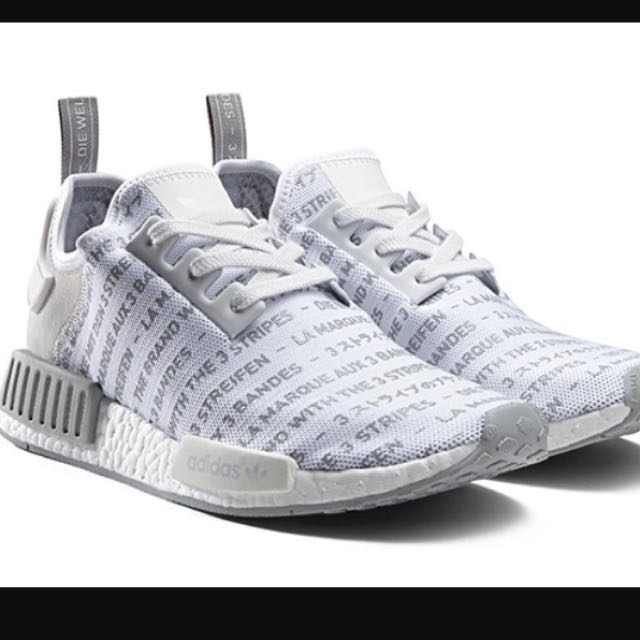 Adidas NMD R1-Whiteout