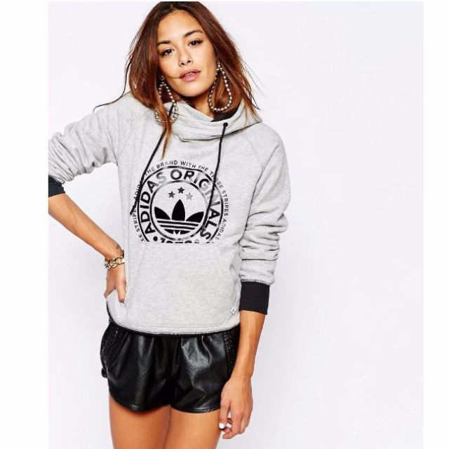 great fit buy best huge selection of Adidas Originals Pull Over Hoodie, Women's Fashion on Carousell