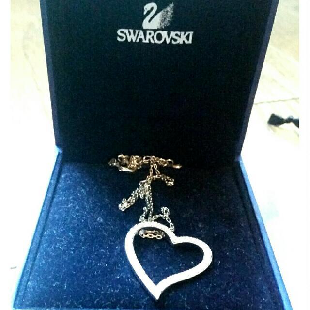 Authentic Swarovski Heart Neclace