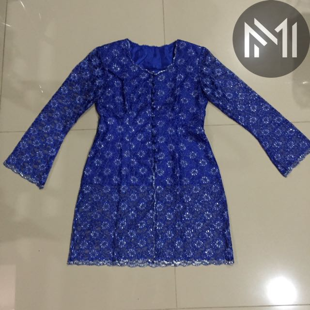 Baju Atasan Kebaya Biru