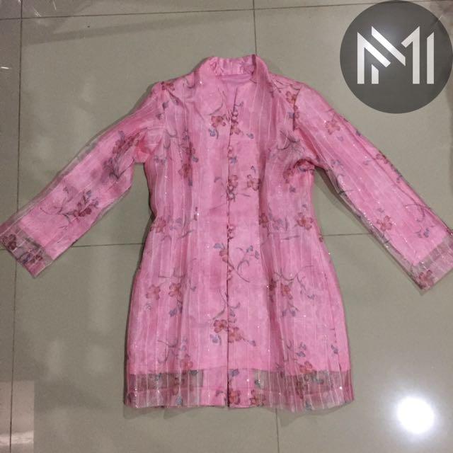 Baju Atasan Kebaya Pink