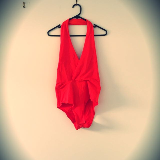 💜Bardot Body Suit Orange Size 10