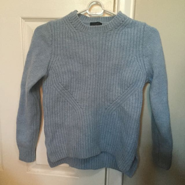 Blue J.crew Sweater