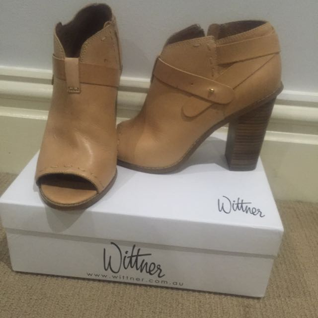 Caramel Ankle Boot - Size 41