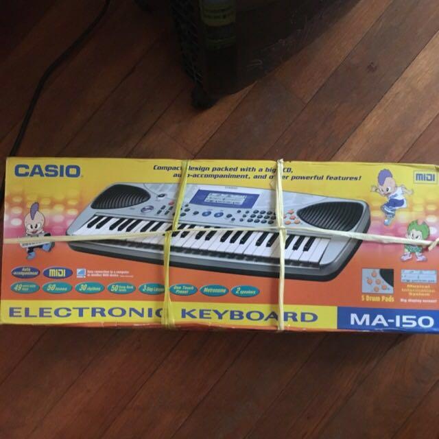 Casio Midi Keyboard, Music & Media on Carousell