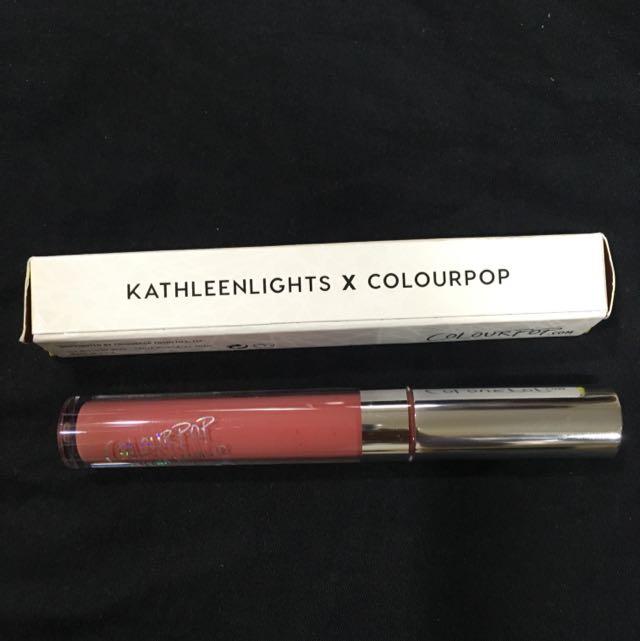 ColourpopXkathleenlights