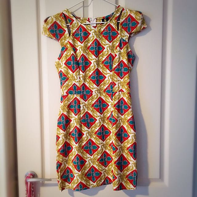 Funky Patterned Dress