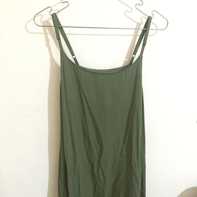 日本GU女裝細肩帶吊帶連身裙洋裝