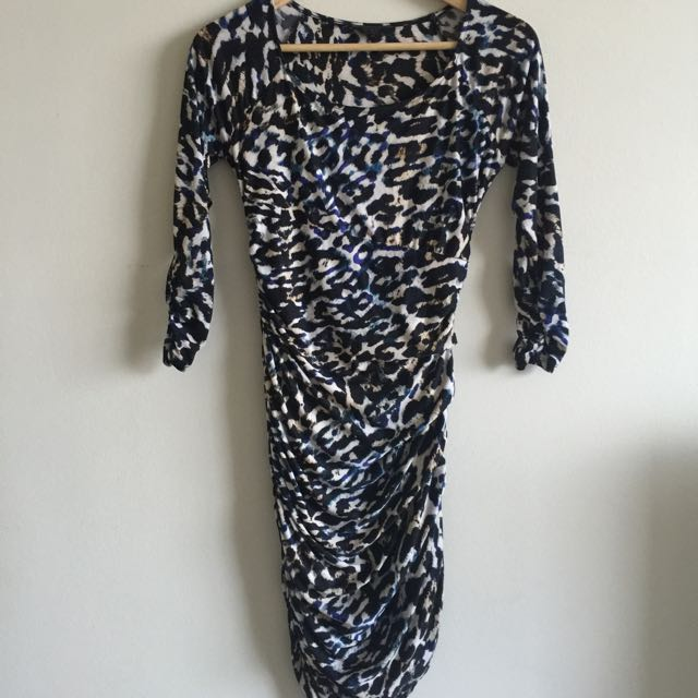 Guess Leopard Print Dress