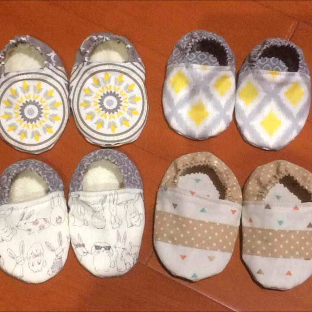 Handmade Baby Shoes & Bibs