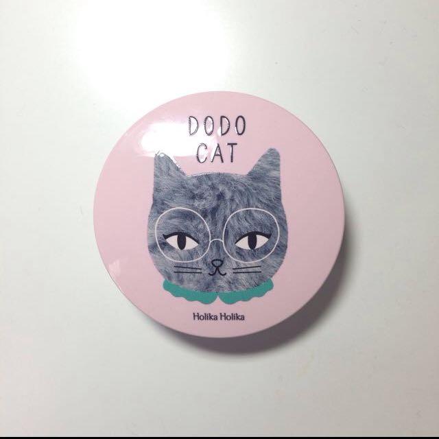 Holika Holika X DODOCAT 貓咪肉球柔潤氣墊粉餅 色號23(自然色)(含運)