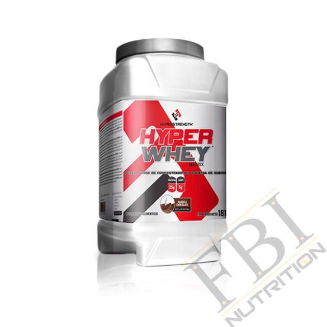 Hyper Strength Hyper Whey 低熱量低脂肪乳清蛋白 4磅-草莓香蕉口味