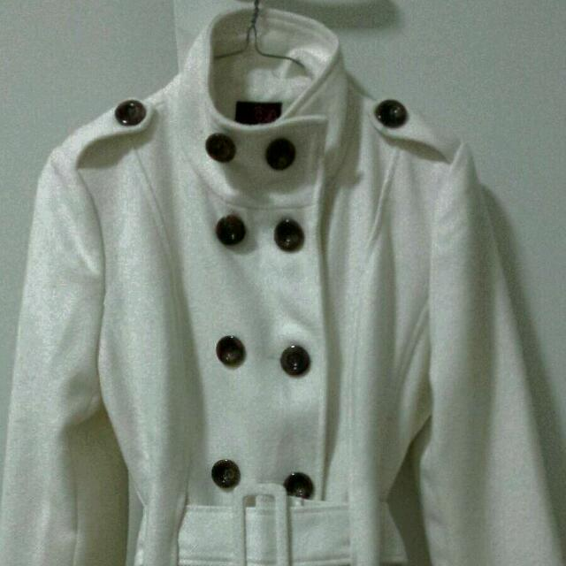 'ICE' Winter Jacket,  Creme Colour