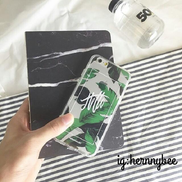 芭蕉葉手機殼iphone case 6/6s