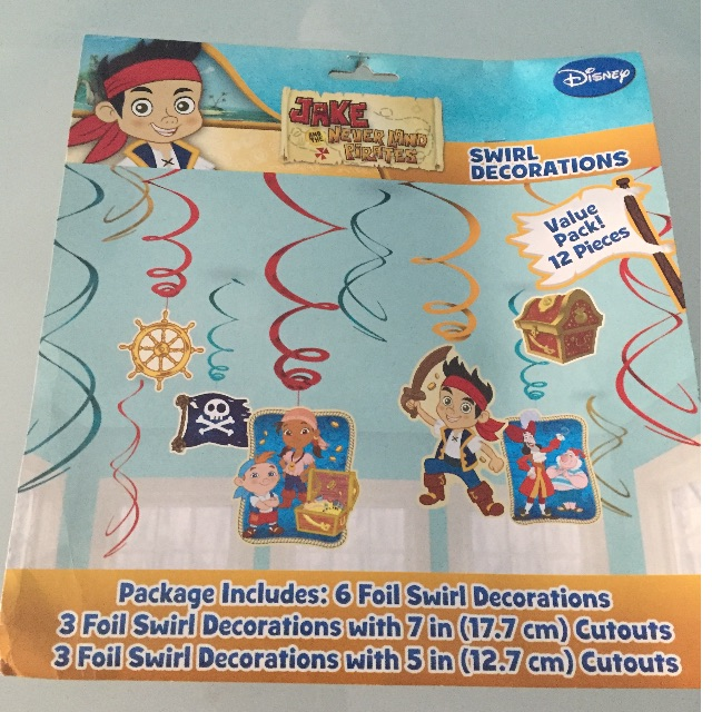 Jake And Neverland Pirate Party Decoration Babies Kids On Carousell