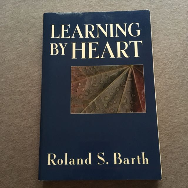 Learning By Heart By Roland Barth
