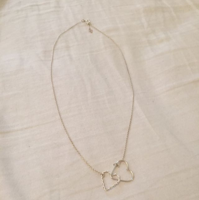 Lovisa Sterling Silver .925 Heart Necklace