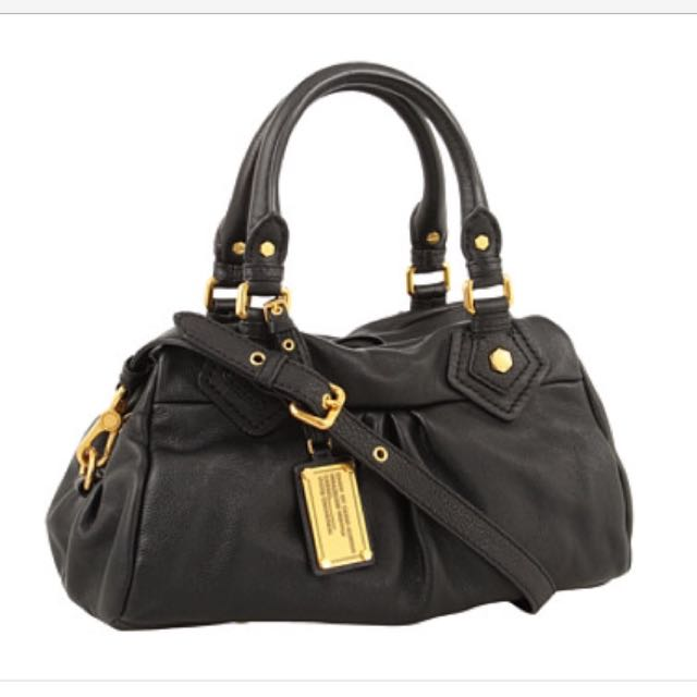 b701f44a9ed2 Marc By Marc Jacobs Classic Q Baby Groovee Satchel In Black